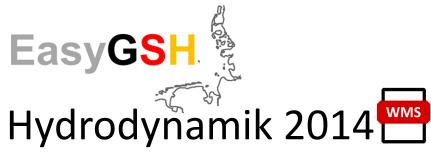 EasyGSH-DB: Hydrodynamik 2014 (WMS)