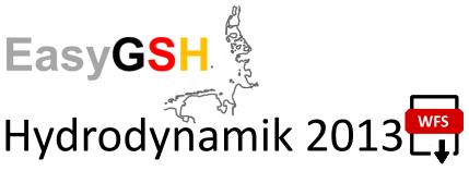 EasyGSH-DB: Hydrodynamik 2013 (WFS)