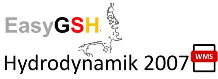EasyGSH-DB: Hydrodynamik 2007 (WMS)