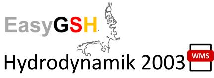 EasyGSH-DB: Hydrodynamik 2003 (WMS)