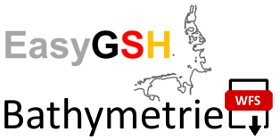 EasyGSH-DB: Bathymetrie (WFS)
